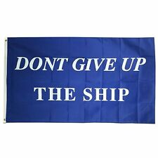 3x5 Commodore Perry Don't Give up the Ship Flag 3'x5' Banner Brass Grommets