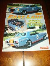 1966 FORD MUSTANG RACE CAR ***ORIGINAL 1995 ARTICLE***