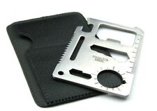 11 in 1 Stainless Multi Function Pocket Survival Tool Kit