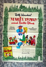 ROLF KAUKA * FIX UND FOXY - Maria d `Oro und Bello Blue - A1-FILMPOSTER - 1973