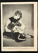 1934 Dog Print / Bookplate - PEKINGESE, Lady President Brazilian Kennel Club