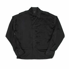 Jean-Paul GAULTIER HOMME Pleated switching shirt Size 48(K-44124)