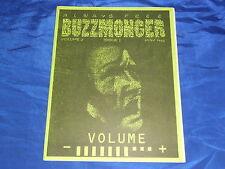 Buzzmonger V2#3 May1995 Dallas TX Deep Ellum Music & Art Fanzine Punk Scene VF