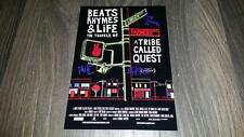"BEATS, RHYMES AND LIFE PP SIGNED 12""X8"" A4 PHOTO POSTER & A TRIBE CALLED QUEST"