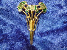 beautiful brooch__Pierre Lang_Flower bouquet with glittering stone