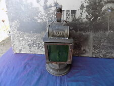 ANCIENNE LAMPE SNCF A CARBURE ACYTILENE