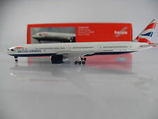 Herpa Wings 1:500 British Airways Boeing 777-300ER G-STBH 518246-002