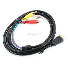 1080P HDMI Male to VGA Female Video Adapter Cable for RCA HDTV High Quality