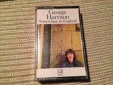 GEORGE HARRISON BEATLES SPANISH CASSETTE TAPE SPAIN SOMEWHERE IN ENGLAND SEALED
