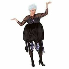 NEW! Disney Store URSULA Sea Witch DRESS MEDIUM Halloween Costume LITTLE MERMAID