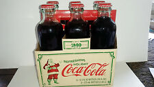 Coca Cola Limited Edition Circa 1899 Unopened Bottles Christmas Vintage 6 Bottle