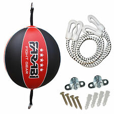 Double End Speed ball punching Training Floor To Ceiling Original Leather Ball