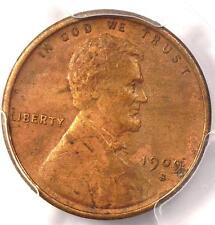 1909-S VDB Lincoln Wheat Cent 1C - PCGS AU Details - Rare Date Certified Penny