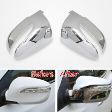 ABS Side Door Rear View Mirror Cover Decoration Trim For Tucson IX35 2010-2015