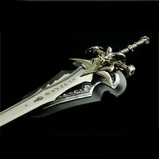 "Metal 1:1 Size Frostmourne Arthas Sword Replica 47"" Upgraded Coolest Halloween"