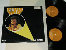 ELVIS PRESLEY Forever 2-LP RCA KSL2-7031 RCA Orange Label Canada VG/GD+/VG