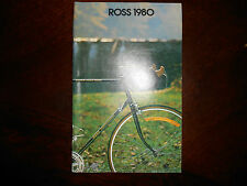 Vintage 1980 Ross Bicycle Bike Color Sales Catalog Brochure Gran Tour Pantera