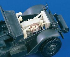 Verlinden 1/35 US M3 Half-track Engine and Compartment WWII (for Tamiya) 1592