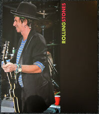 THE ROLLING STONES POSTER PAGE A BIGGER BANG CONCERT KEITH RICHARDS . Y117