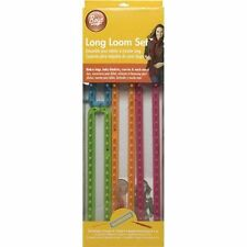 Boye Long Loom Set-...Knit, needles, circular, bamboo, carbonized, pointed
