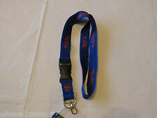Salt Life LEASH lanyard Key Ring holder neck clip  SLPR007 Gators Colors blue*^