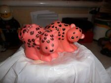 Fisher Price Little People - Noahs  Ark Animals - Pair Of Leopards
