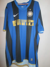 Inter Milan 2008-2009 Home Football Shirt Size XXL /10671