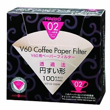 Hario Box of Peper Coffee Filters 02 VCF-02-100MK from Japan New