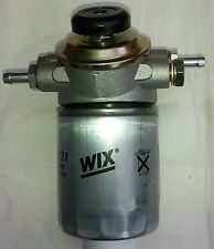 Fuel filter/water seperator unit Bosch type with primer pump 14mm ports