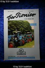 Der Pionier Nr.82 10/99 Lanz Bulldog Club Holstein Schlepper Historie Normag
