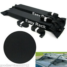 Soft Vehicle Van Exterior Rooftop Luggage Cargo Storage Carrier Rack Support Kit