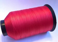 New Gudebrod SCARLET #326 Nylon Rod Building Thread 4 oz Size D, Bamboo All Rods