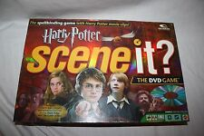HARRY POTTER Scene it? Movie Trivia DVD Board Game Mattel Ages 8+ 2-4 Players