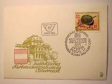 50 Jahre CV MKV - 1983 Österreich - Ersttagsbrief Briefmarke ETB / Studentika