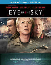 Eye in the Sky (Blu-ray + DVD + Digital HD) Helen Mirren, Aaron Paul, Alan Rick