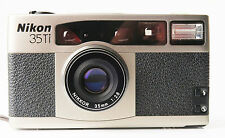 Nikon 35Ti 35mm Compact Film Camera. Excellent. With case & strap.