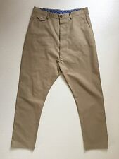 Rare Vivienne Westwood MAN Label 'Drop-crotch' Chino Trousers IT50 UK Large