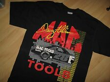 Davey Allison Tee - Vintage 1980's Mac Tools NASCAR Racing Car Driver T Shirt Lg