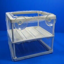 Aquarium Breeder Trap Net Hatchery Separation Incubating Box Fish Tank Guppy
