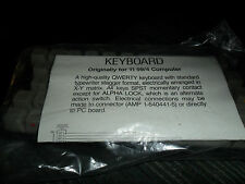 NOS Vintage TI-99/4A Computer ALPHA NUMERIC KEYBOARD Package Texas Instruments