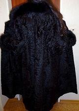 Abrigo de piel Pelz ancha cola iesa Swakara azul zorro broadtail fur Coat