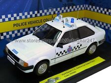 Limited Edition Ford Escort 1.1L Section Essex Police 1:18 Diecast Model Car