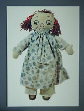R&L Modern Postcard: Soft Plush Toy Rag Doll Dolly 1982, Raggedy Ann