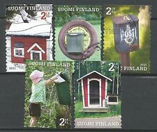 ˳˳ ҉ ˳˳FI15 Finland-Suomi Mailboxes & Child 2011 recent complete set