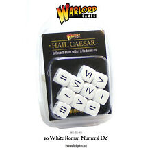 ROMAN NUMERAL DICE - HAIL CEASAR - SENT FIRST CLASS -