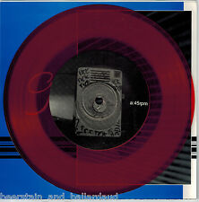 "Garrison Twenty-Four 7"" Clear Red vinyl"