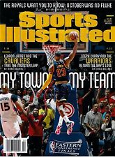 New Sports Illustrated Lebron James Cleveland Cavs My Town 6/1/15 2015 No Label