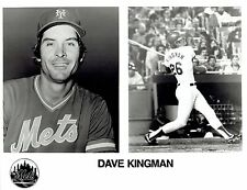 1983 Vintage Photo in uniform New York Mets baseball Dave Kingman batting