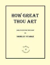 HOW GREAT THOU ART, Sheet Music, Harp Solo, Hymn