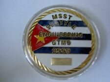 MSST Seattle Engineering GTMO  Challenge Coin ~ We make The Impossible Possible